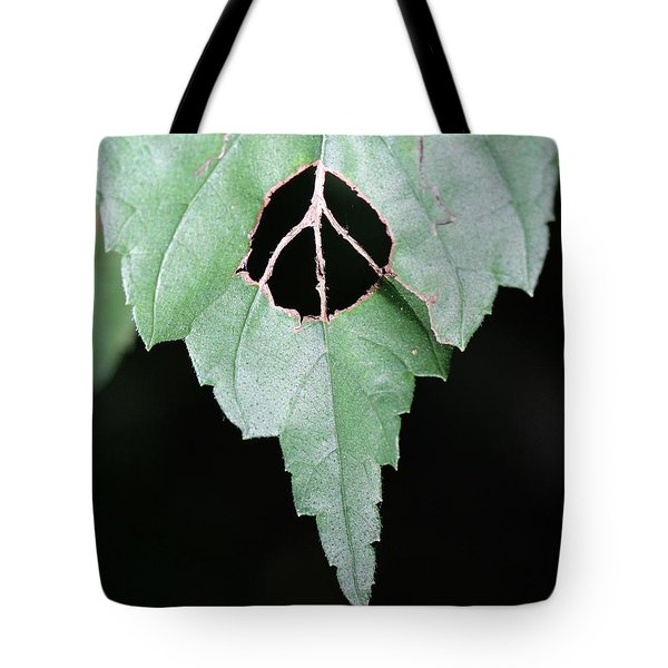 Peace For The Planet Tote Bag