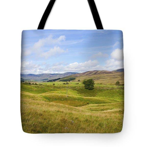 Peace In Glen Clova Tote Bag
