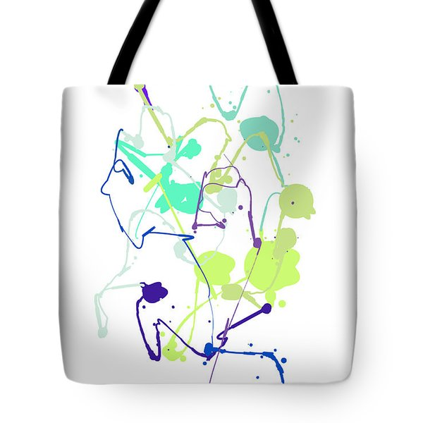 Peace In The Garden Tote Bag by Bruce Nutting