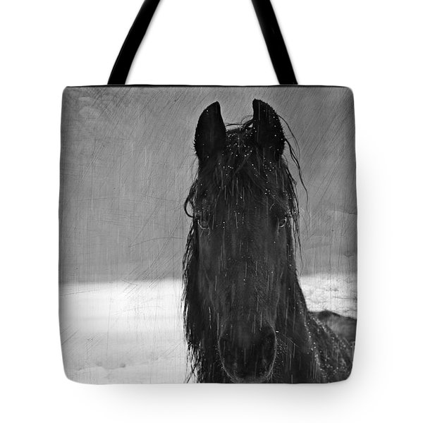 Peace In The Storm Tote Bag by Michelle Twohig