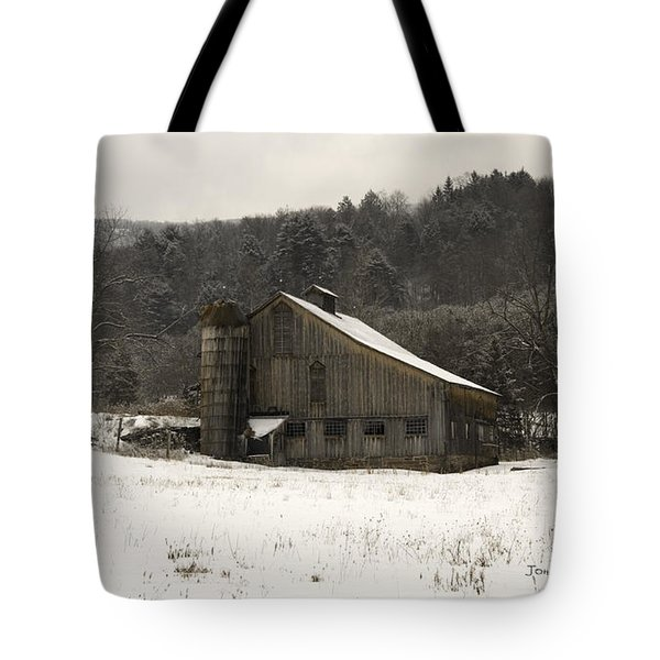 Peace In The Valley Tote Bag by John Stephens