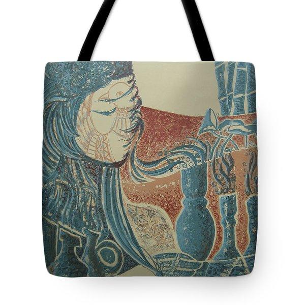 Peace Inside Us Tote Bag