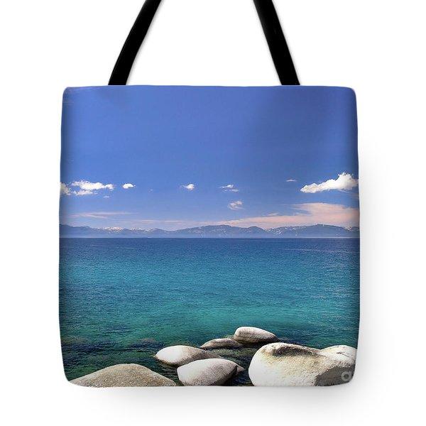 Peace - Lake Tahoe Tote Bag