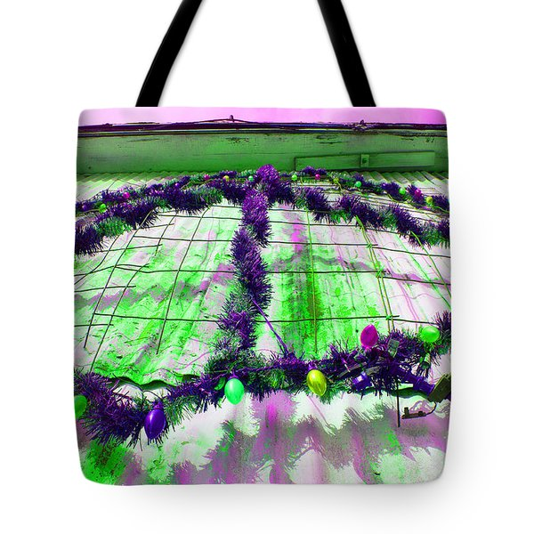 Tote Bag featuring the photograph Peace Lights 1 by Minnie Lippiatt