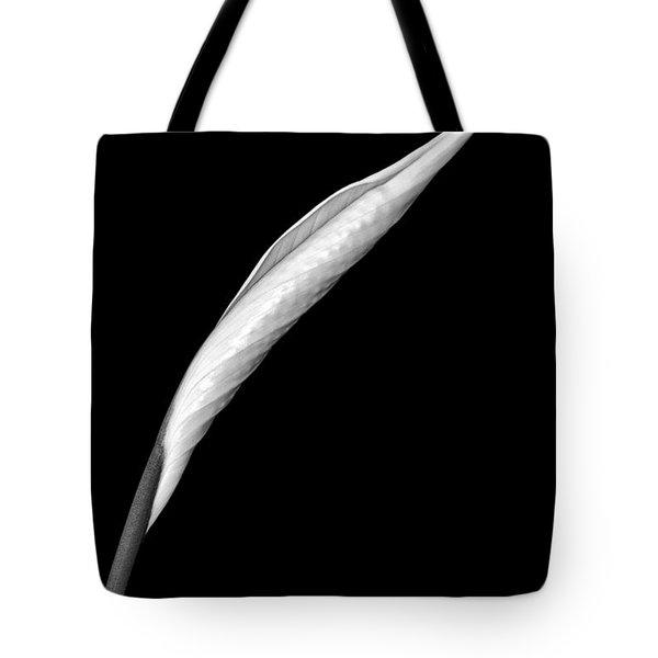 Peace Lily II Tote Bag by Jeff Burton