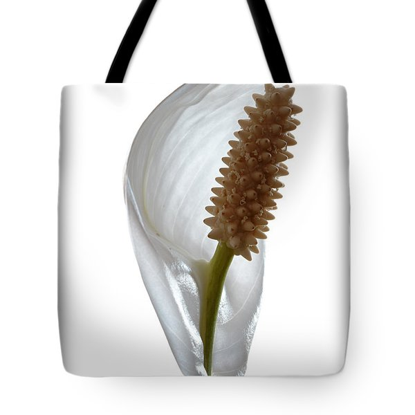Peace Lily. Tote Bag
