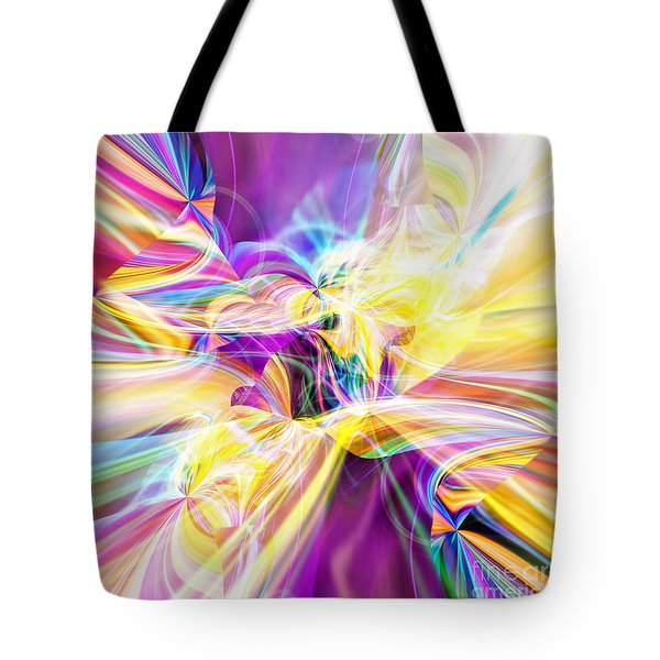 Tote Bag featuring the digital art Peace by Margie Chapman