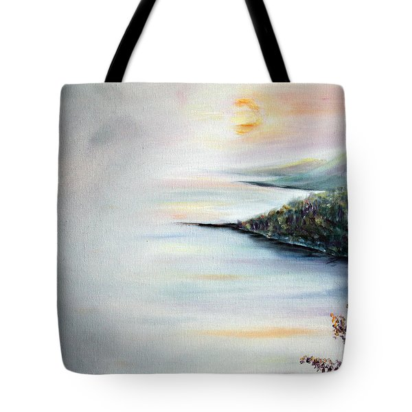 Tote Bag featuring the painting Peace by Meaghan Troup