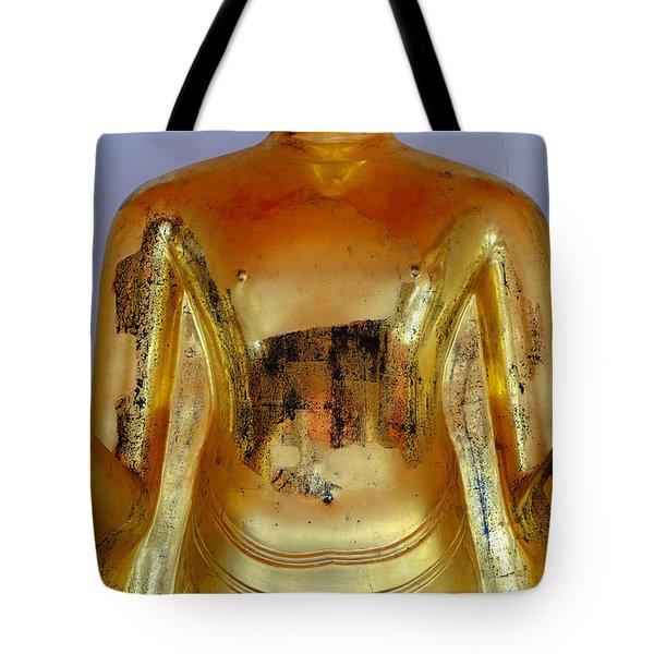 Peace Mudra Tote Bag