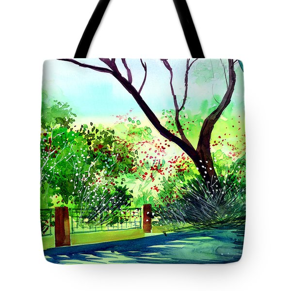 Peace Of Mind 1 Tote Bag by Anil Nene