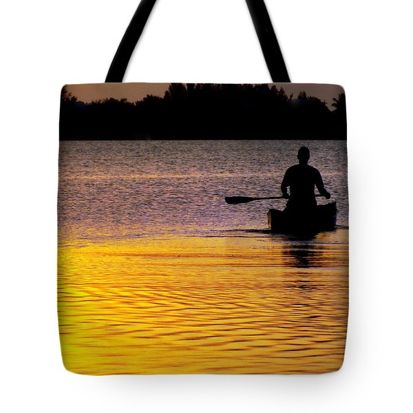 Peace Of Mind Tote Bag by Karen Wiles