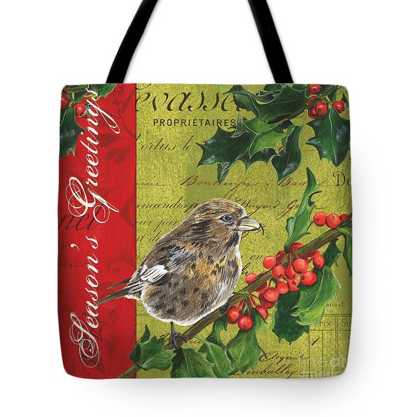 Peace On Earth 1 Tote Bag by Debbie DeWitt