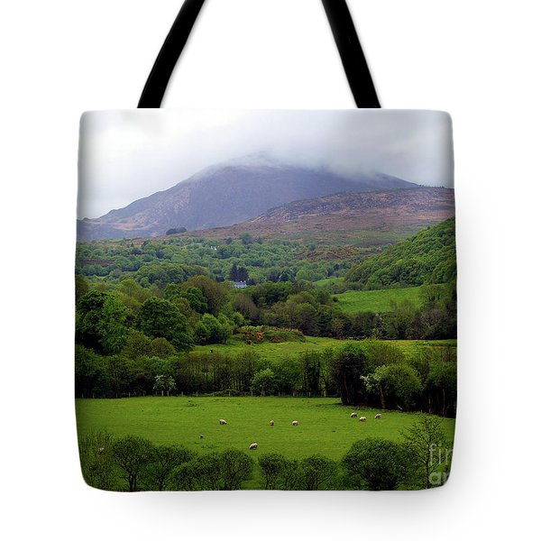 Peace On The Emerald Isle Tote Bag by Patricia Griffin Brett