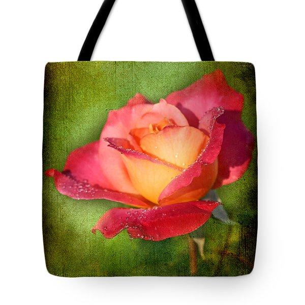 Peace Rose Tote Bag by Joan McCool