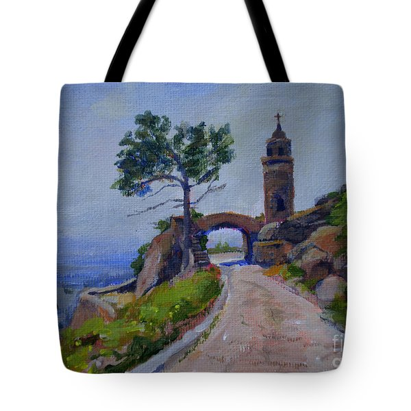 Peace Tower And Friendship Bridge Tote Bag