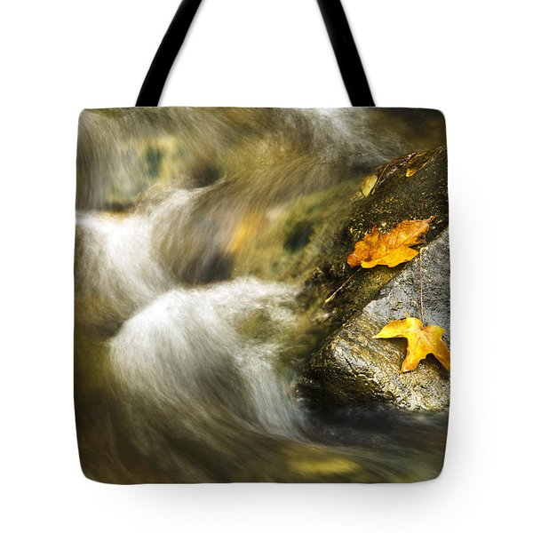 Peaceful Creek Tote Bag by Christina Rollo