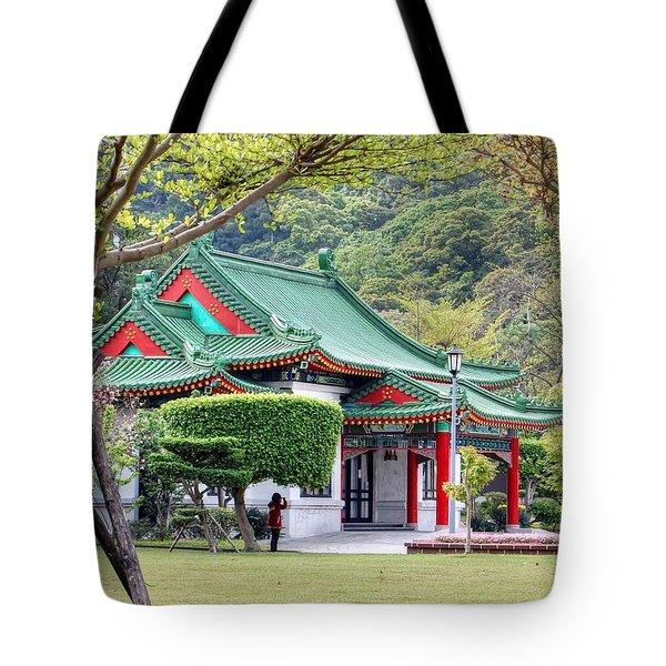 Peaceful Easy Taiwan Tote Bag