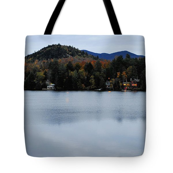 Peaceful Evening At The Lake Tote Bag