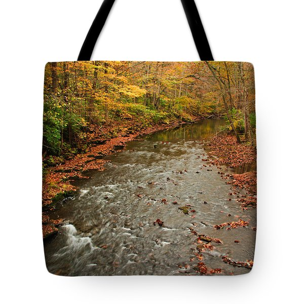 Peaceful Fall Tote Bag