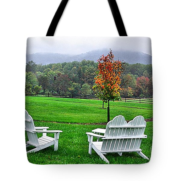 Tote Bag featuring the photograph Peaceful Spot  by John S
