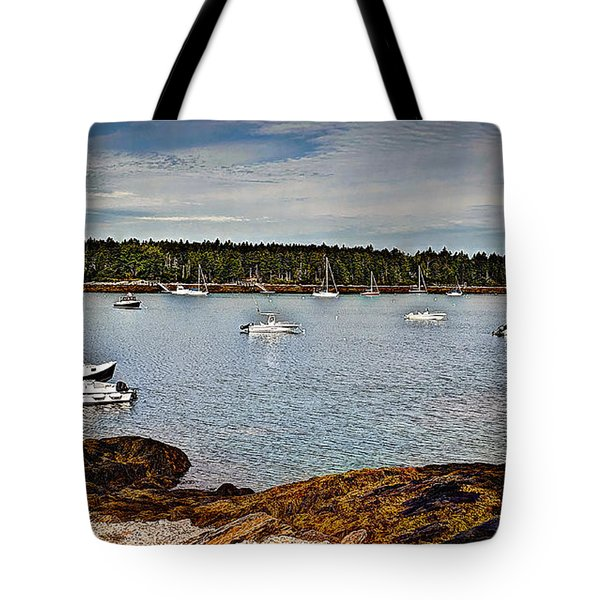 Peaceful   Journey Tote Bag by Deborah Klubertanz