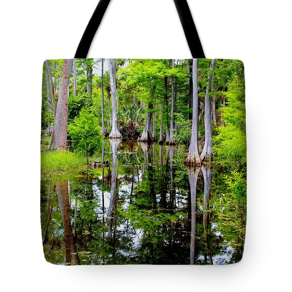 Peaceful Lake Tote Bag