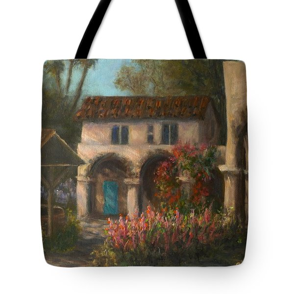 Peaceful Landscape Paintings Tote Bag