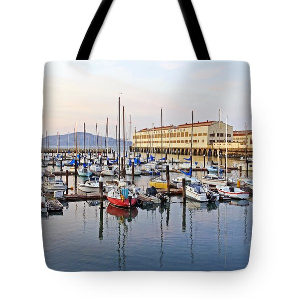 Tote Bag featuring the photograph Peaceful Marina by Kate Brown