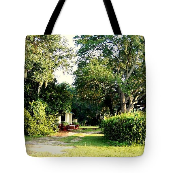 Peaceful Morning Tote Bag by Catherine Gagne