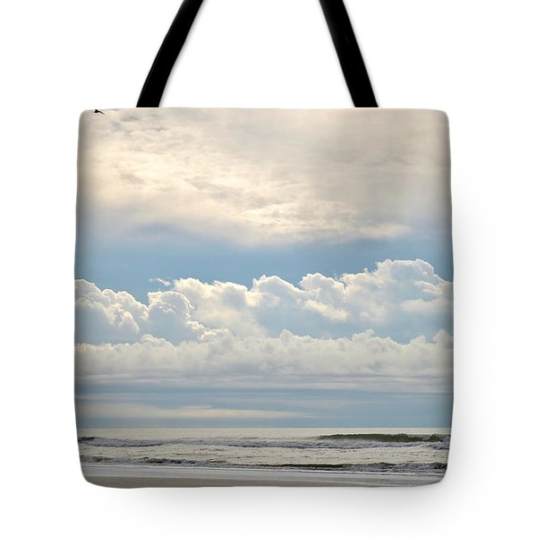 Peaceful Morning Tote Bag by Kelly Nowak