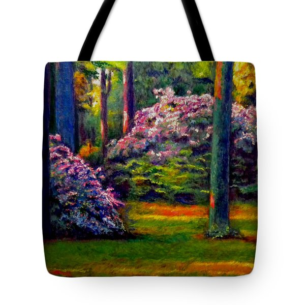 Peaceful Morning Tote Bag by Michael Durst