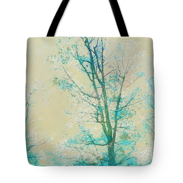 Tote Bag featuring the photograph Peaceful Morning by Suzanne Powers