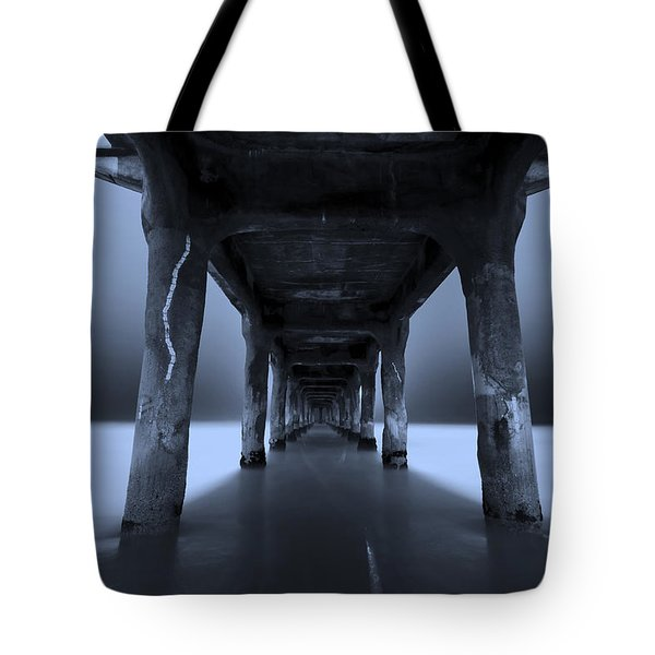 Tote Bag featuring the photograph Peaceful Pacific by Mihai Andritoiu