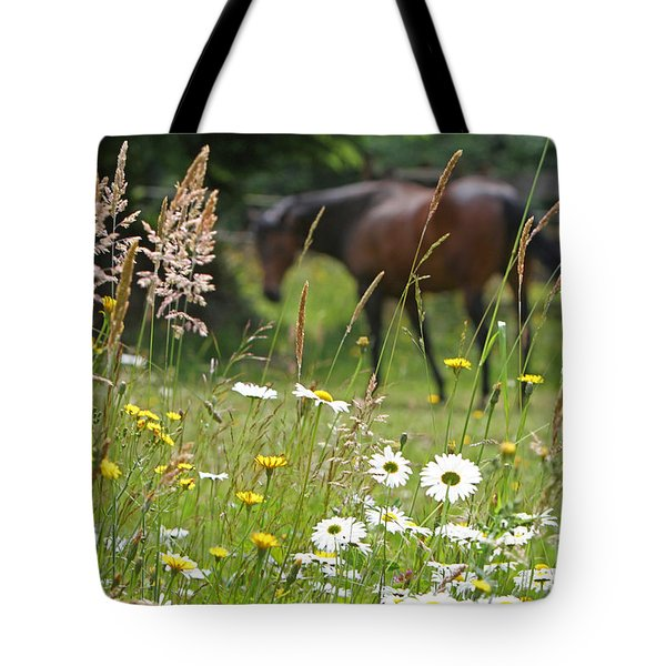 Peaceful Pasture Tote Bag