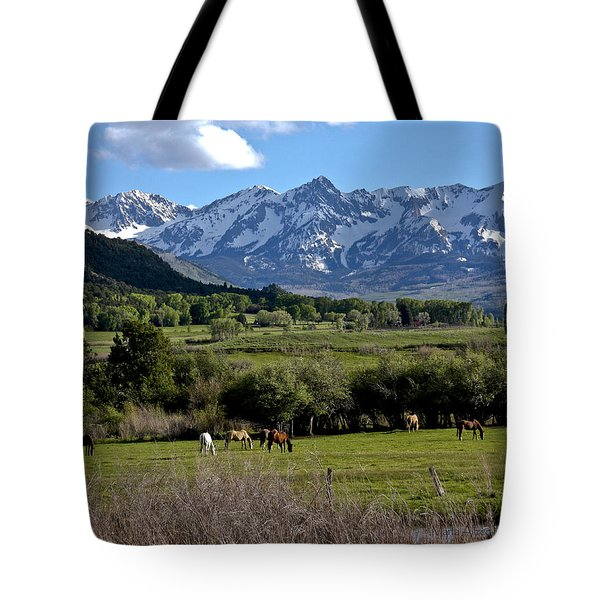 Peaceful Pastures Tote Bag