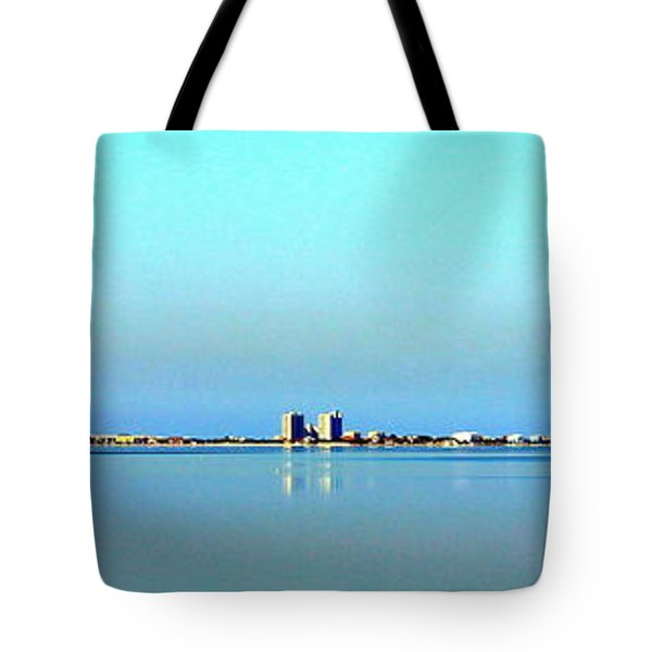 Peaceful Pensacola Beach Tote Bag by Faith Williams