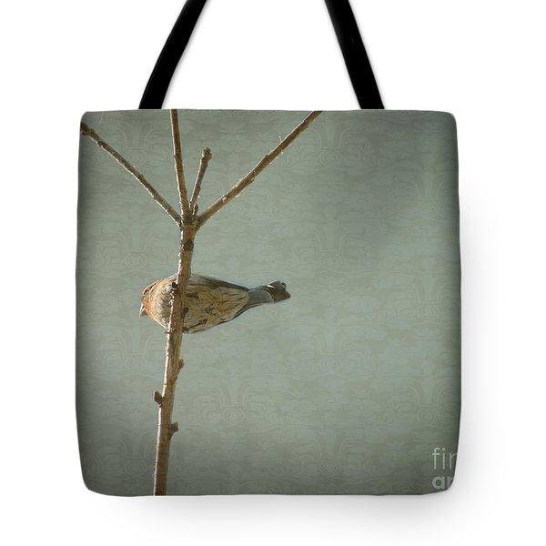 Peaceful Perch Tote Bag