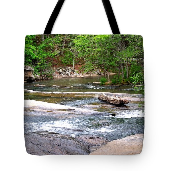 Tote Bag featuring the photograph Peaceful by Pete Trenholm