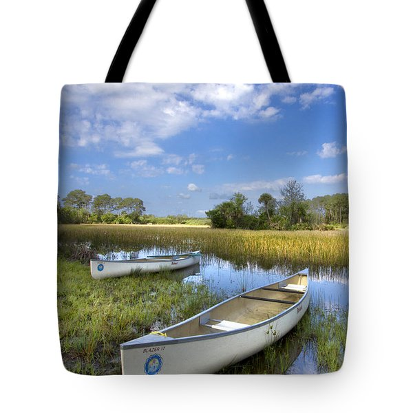 Peaceful Prairie Tote Bag by Debra and Dave Vanderlaan