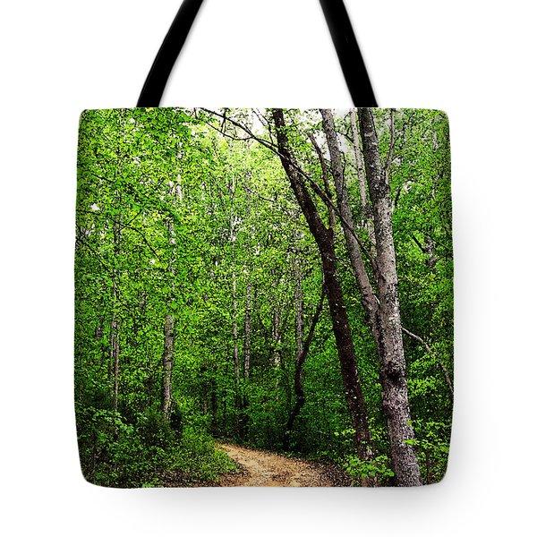 Peaceful Walk Tote Bag