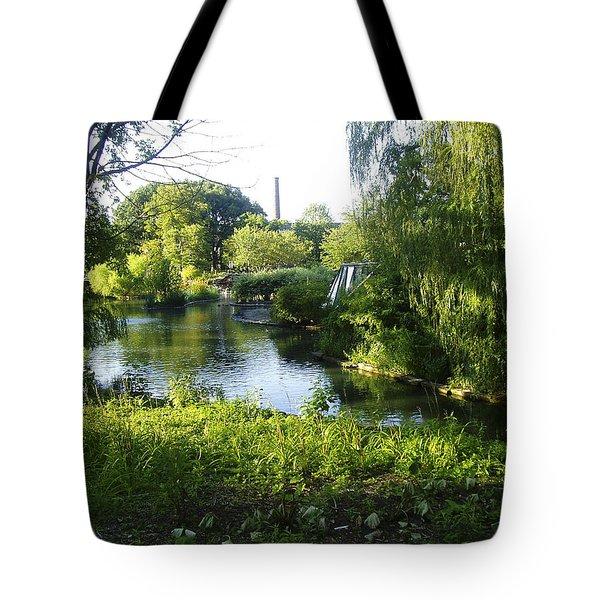 Peaceful Waters Tote Bag