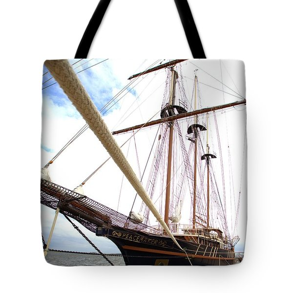 Tote Bag featuring the photograph Peacemaker by Gordon Elwell