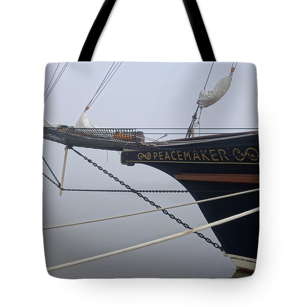 Peacemaker Tote Bag by Julia Wilcox