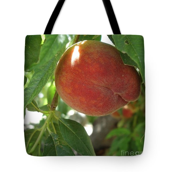 Peach Tote Bag