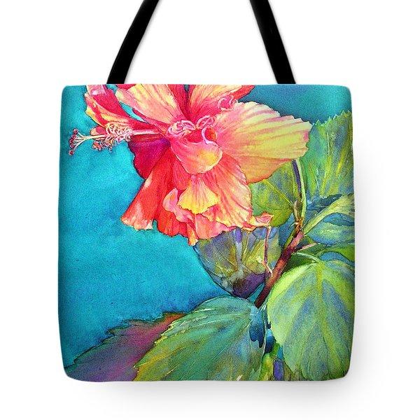 Peach Paradise Tote Bag