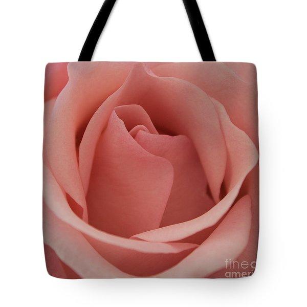 Peach Rose Tote Bag
