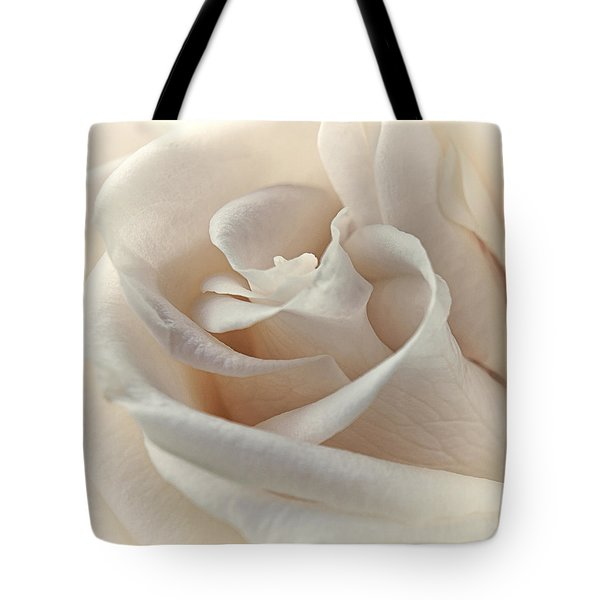 Peaches N Cream Tote Bag by Darlene Kwiatkowski
