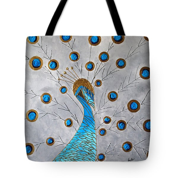 Peacock And Its Beauty Tote Bag