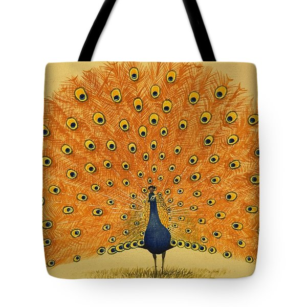 Peacock Tote Bag by English School