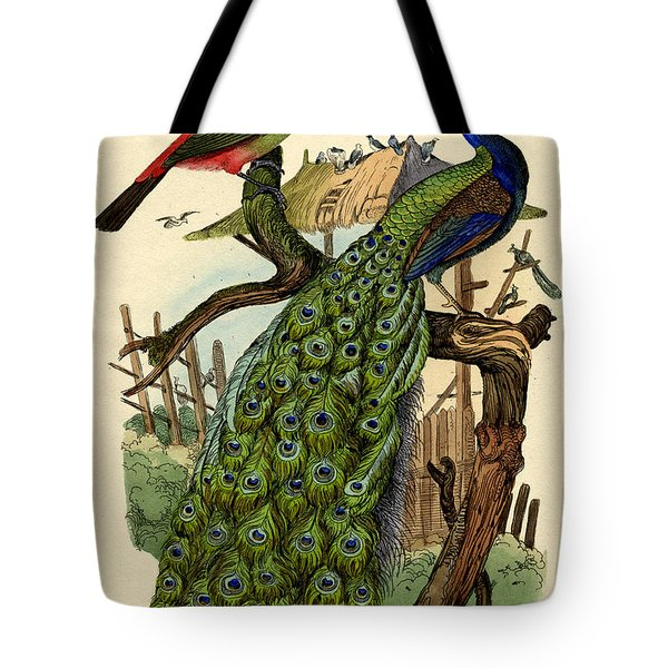 Peacock Tote Bag by French School